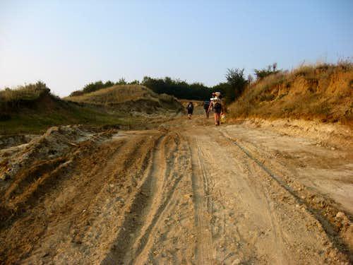 Way to Balanesti