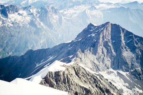 View to Pizzo Bianco from the top