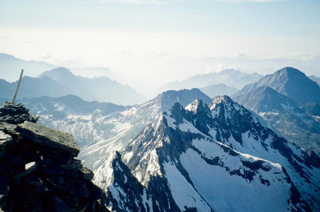 View To Cresta Di Flua   Photos  Diagrams  U0026 Topos   Summitpost