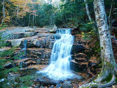 Stair Falls, Falling Waters Trail, Franconia Notch NH