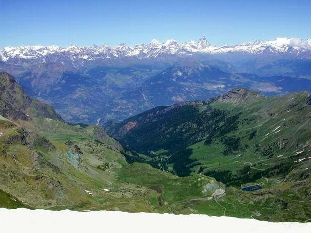 Matterhorn. 4478 m  from  Punta Gianni Vert