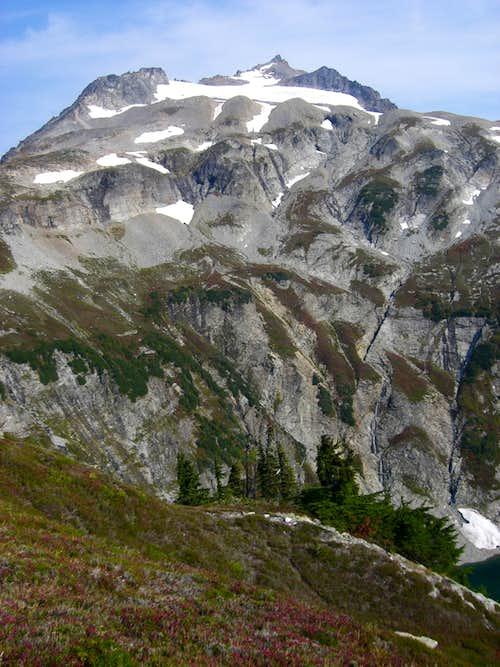 Alone on Sahale Peak?