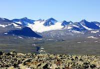 Bårddetjhåhkka (2005 m)