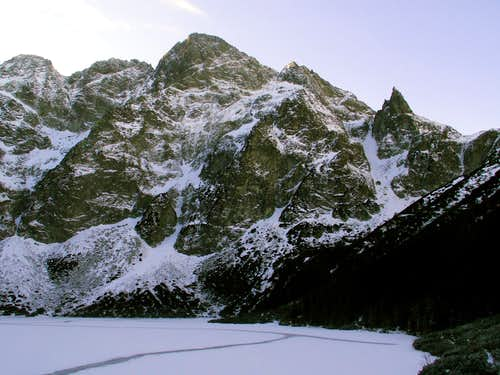 Mieguszowiecki and Cubryna from Morskie Oko