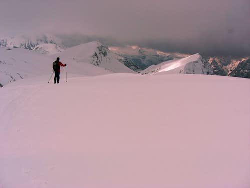 Kleine Reibn: At the Schneibstein summit