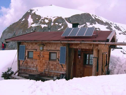 Kleine Reibn: Hut at Seeleinsee