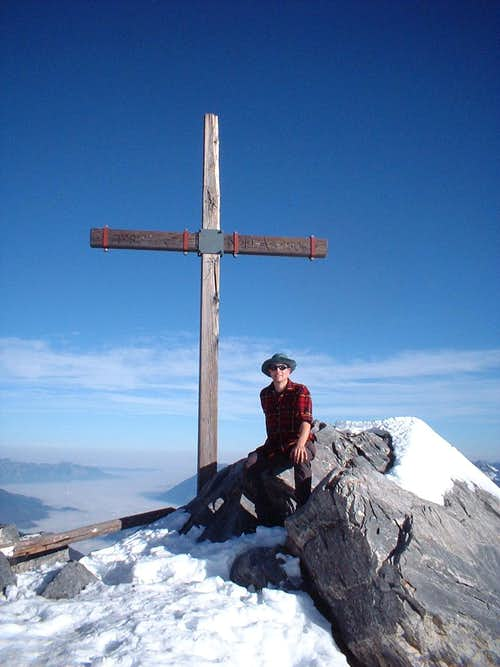 Summit cross of Calanda