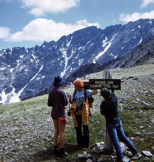 Rocky Mtn High 1973 - Arapaho Pass