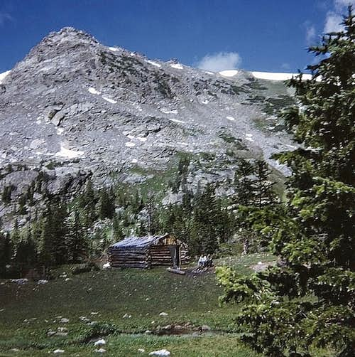 Rocky Mtn High 1973 - Cabin below Arapaho Pass