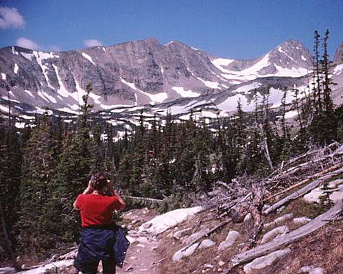 Rocky Mtn High 1973 - Hiking up Audubon