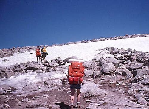 Rocky Mtn High 1975 - Hiking Up Flattop