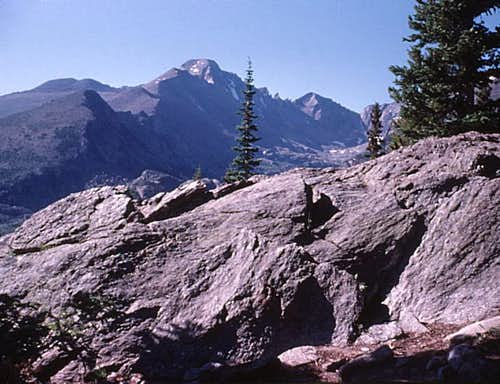 Rocky Mtn High 1975 - Hiking up Flattop Mtn
