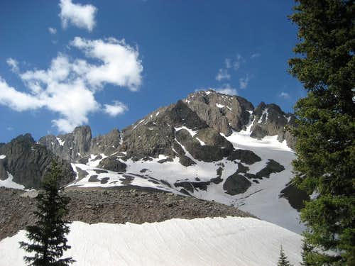 The North face of Mt Sneffels