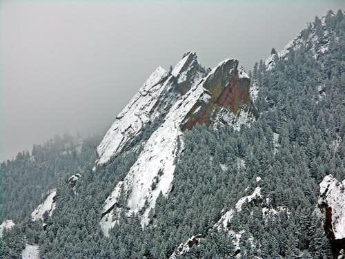 North Face in Winter