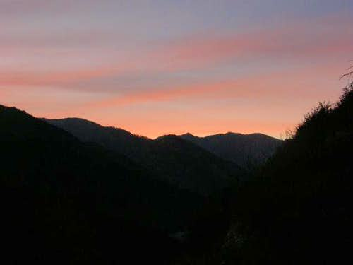 Lytle Creek Sunset