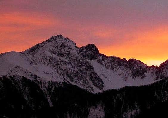 Gamskopf @ sunset