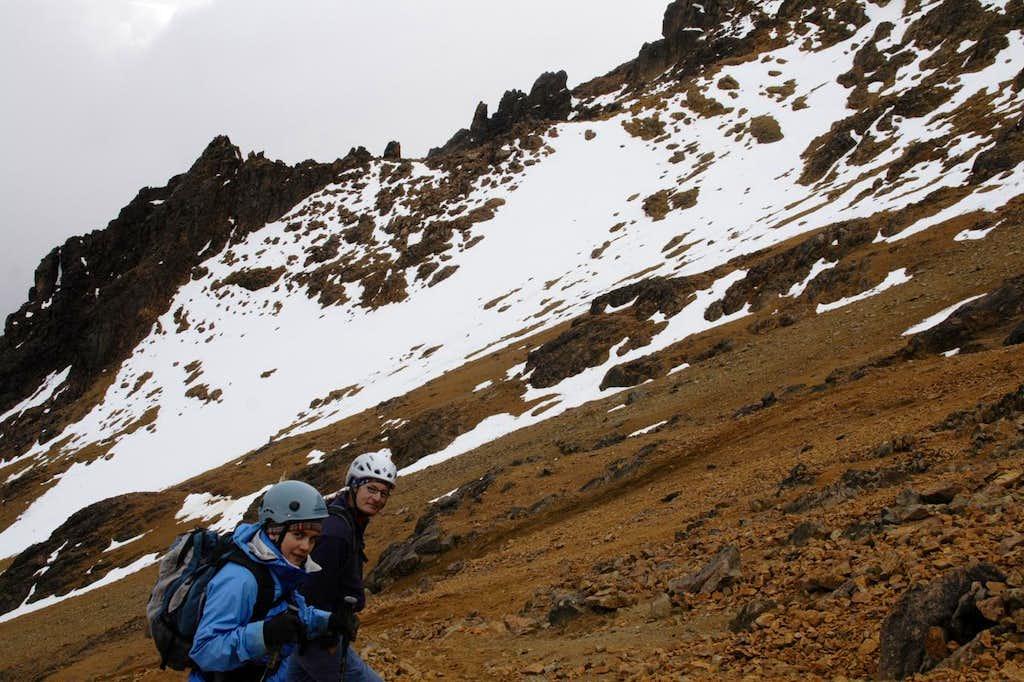 Illiniza Norte's slopes
