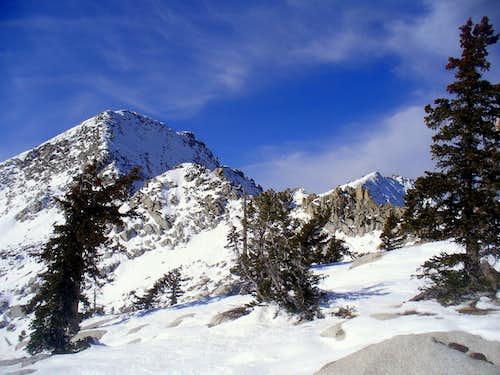 Upper Bells and Lone Peaks