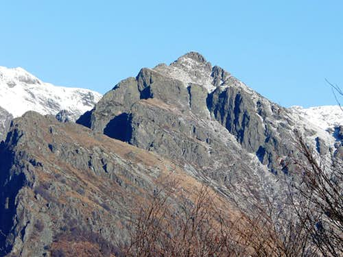 Cima Sasso view from west