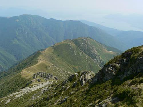 Cima Sasso, the south ridge (normal route)