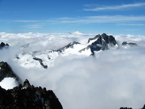 Above the clouds on Spickard