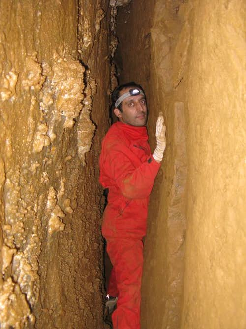 me in a narrow passage at the end of ..