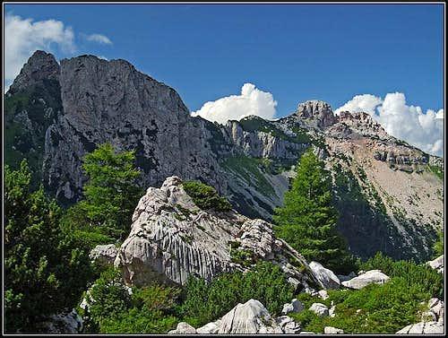 Trogkofel N ridge