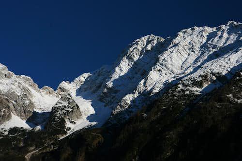 View to Bavski Grintavec ( 2347m ) ....