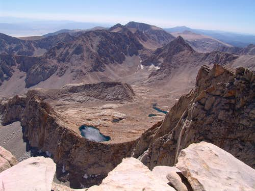 View from the Summit of Whitney