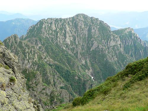 Cima Sasso - North-West flank