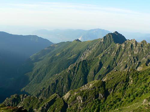 Cima Sasso and Pogallo Valley