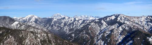 Jolly, Stuart, and the Enchantments Panorama