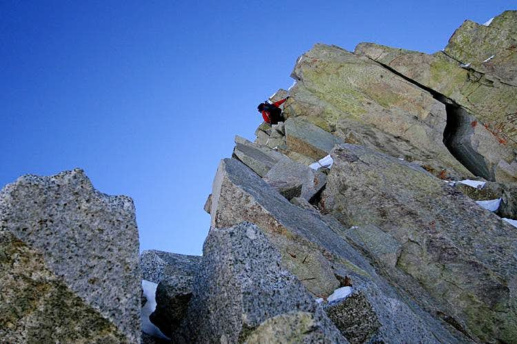 North Ridge, Pfiefferhorn, Utah
