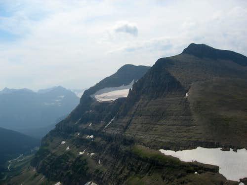 Piegan Mountain and Piegan Glacier