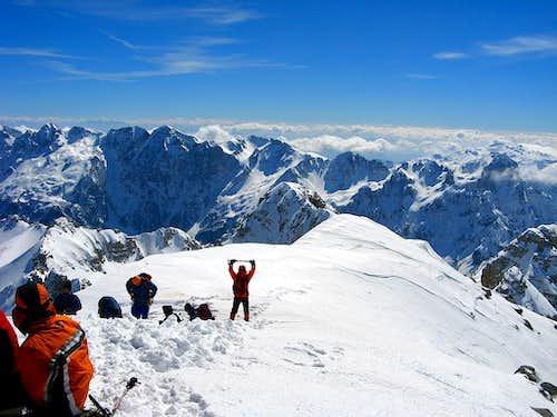 Maja Jezerce summit