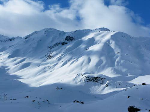 The Scalettahorn 3068m
