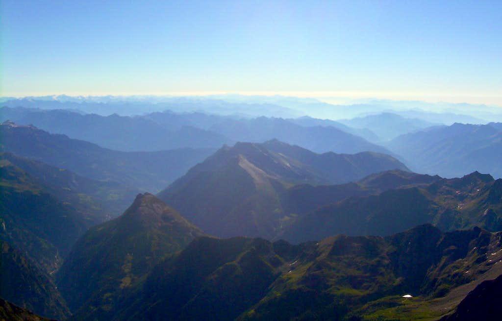 Summitview of Lagginhorn