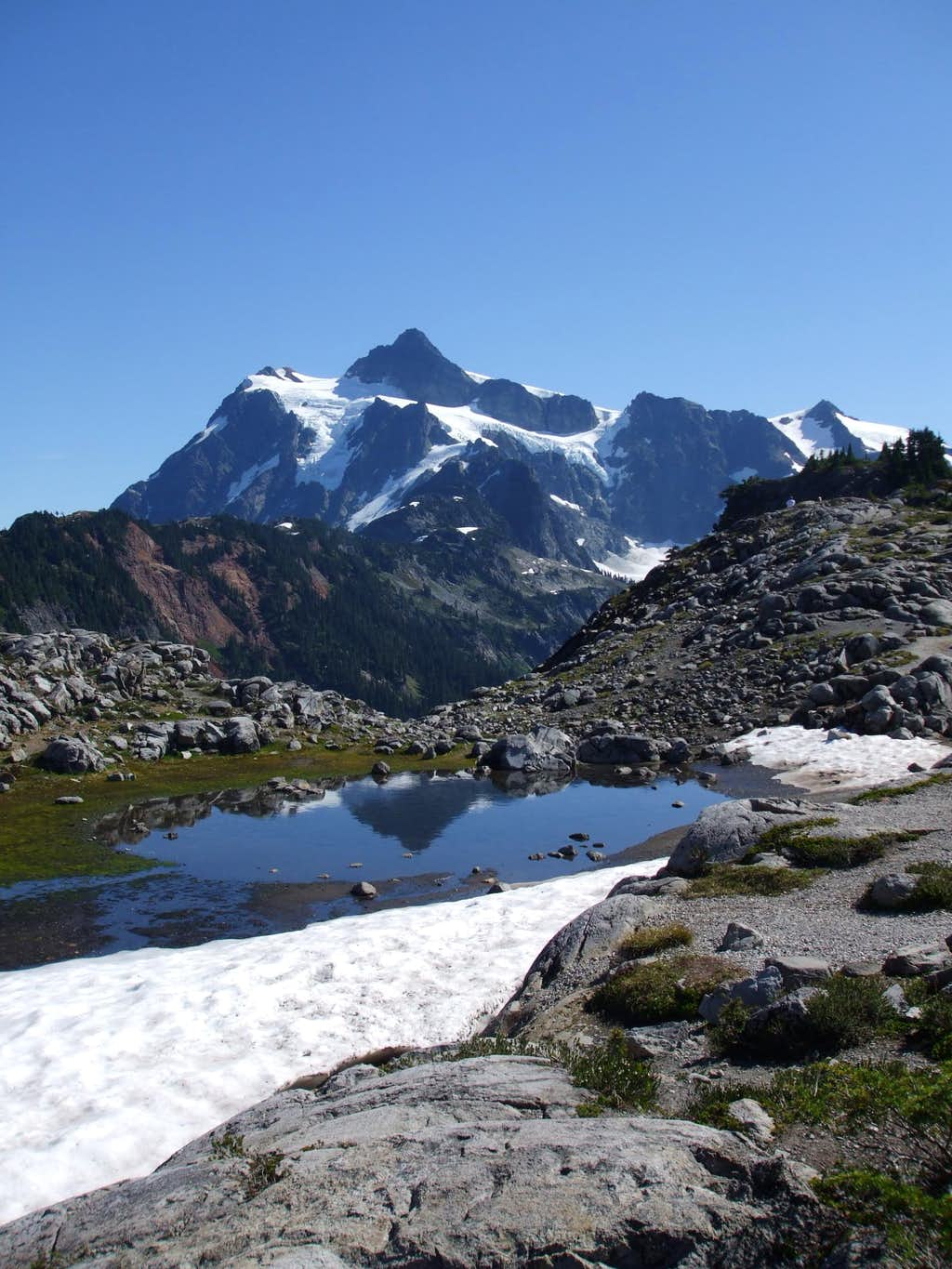 Shuksan from Artist Point area
