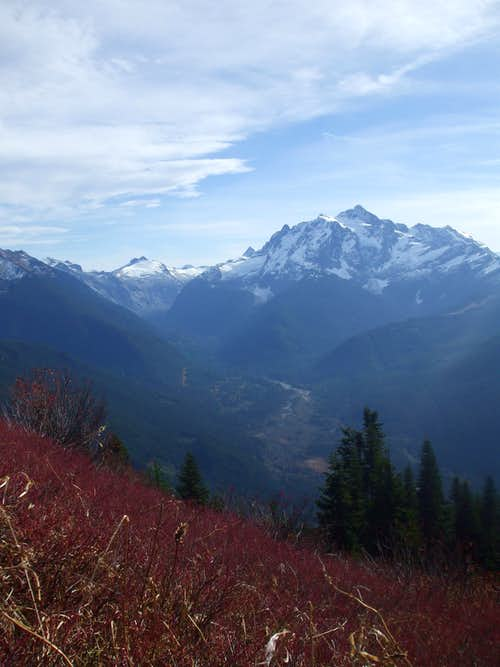 Shuksan from Welcome Pass area in autumn