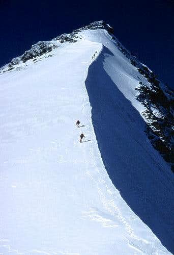 the elegant north ridge to...