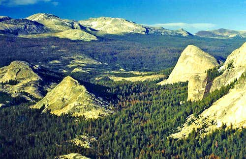 Over Tuolumne Meadows to the Sierra Crest