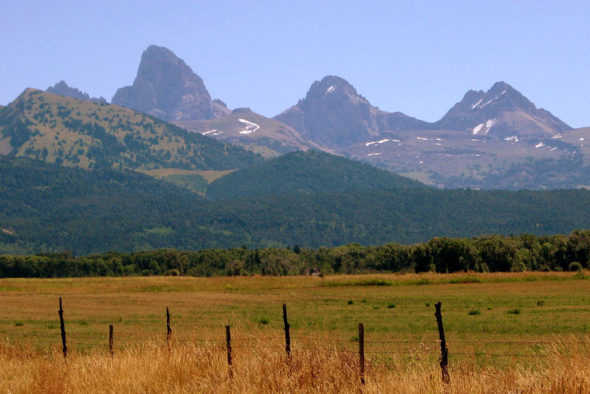 The Grand Teton and Borah Peak