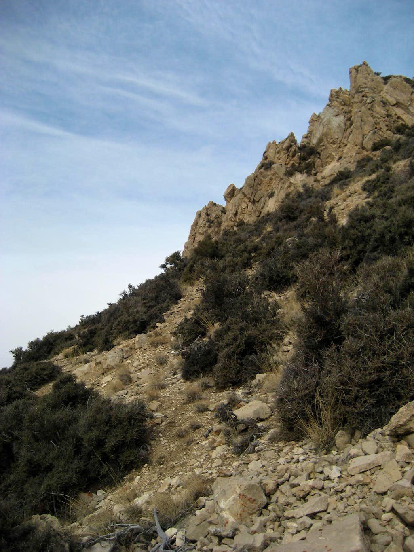 Rocks on Peak 7630