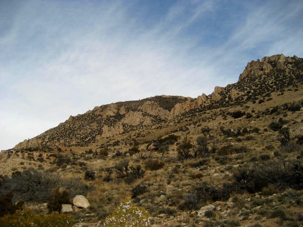 West face of Peak 7630