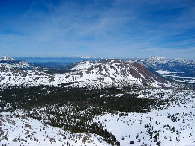 Red Lake Peak, as seen from...