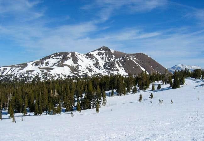 Red Lake Peak, as seen en...