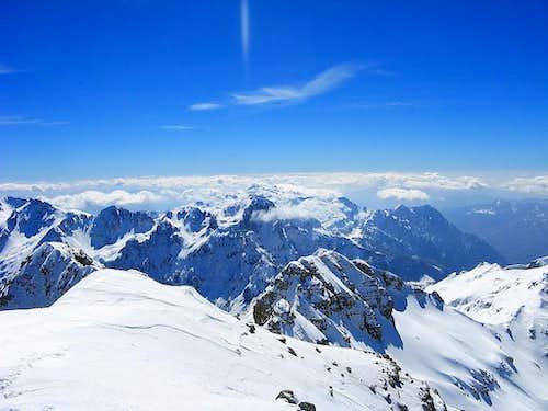 Maja Jezerce summit view