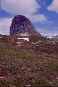The Gösleswand from Neue Reichenberger Hütte