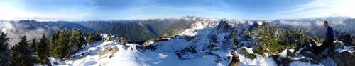 Snoqualmie Summit Panorama