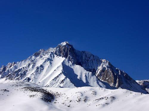 A Winter Attempt on Mount Morrison